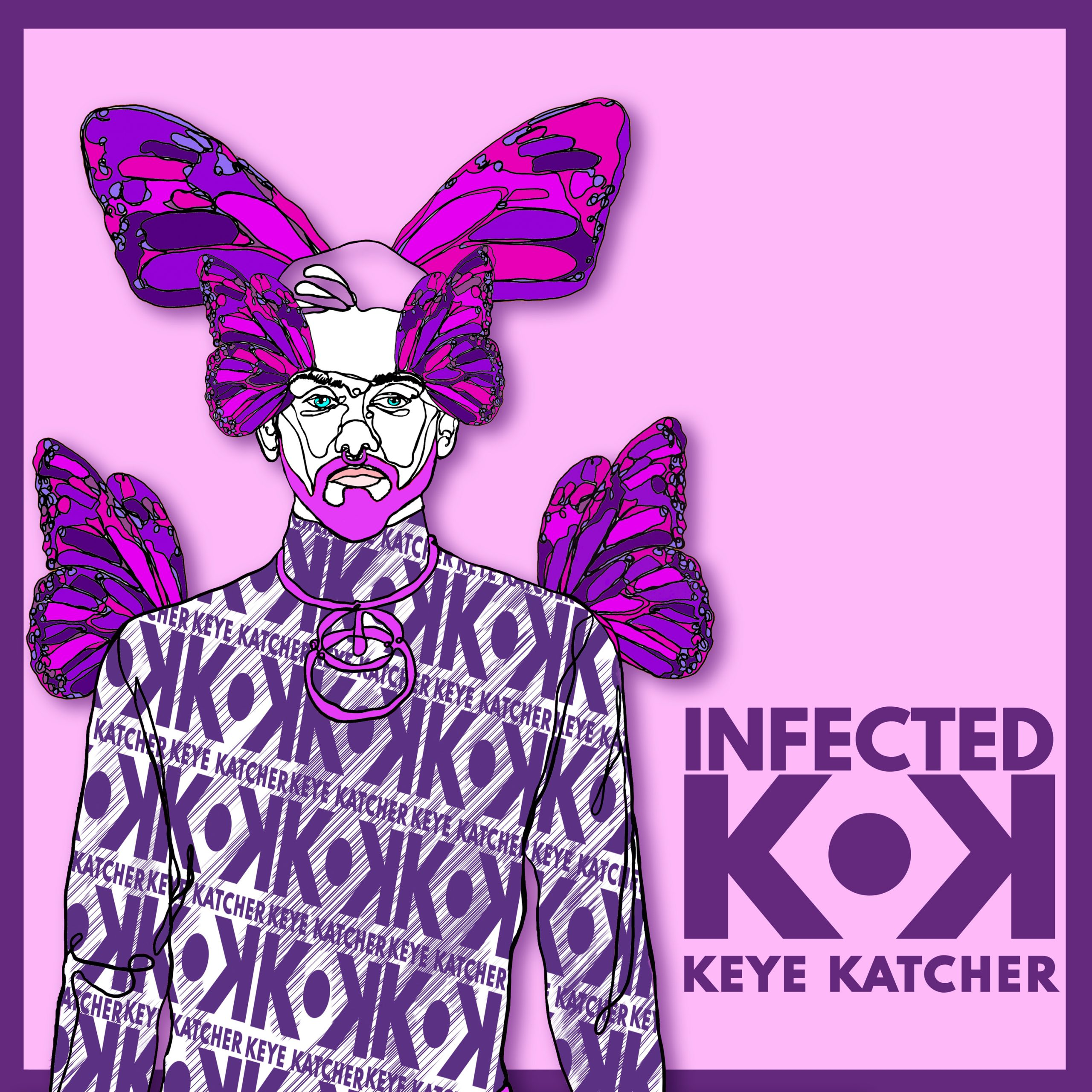 Keye Katcher Infected Single Cover